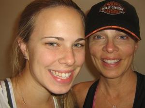 Mom & me before run